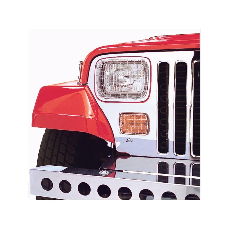 Cerniera parabrezza grezza lato guidaCJ/YJ 76-95