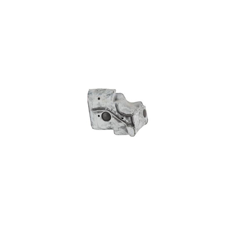 """Coperchio alluminio nero punterie motore 4.2 con scritta """""""