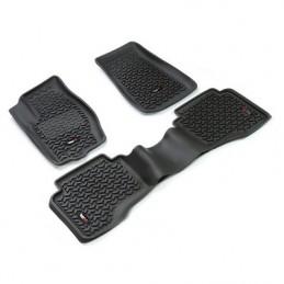 Boccole Poliuretano barra stabilizzatrice Anteriore ROSSO 30.5mm TJ 97-06