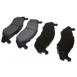 Kit ponticello lungo/corto per fibbia fissaggio parabrezza Inox CJ/YJ 55-95