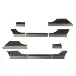 Paraurti anteriore nero XJ 97-01