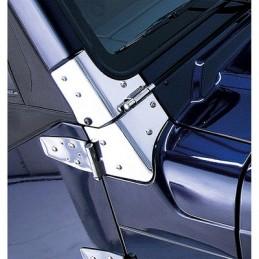 Supporto ruota per telecamera posteriore in alluminio JL/JLU 18-19